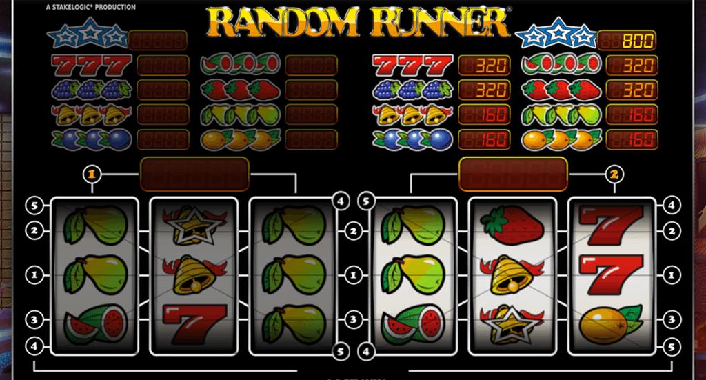 Random Runner gokkast spelen
